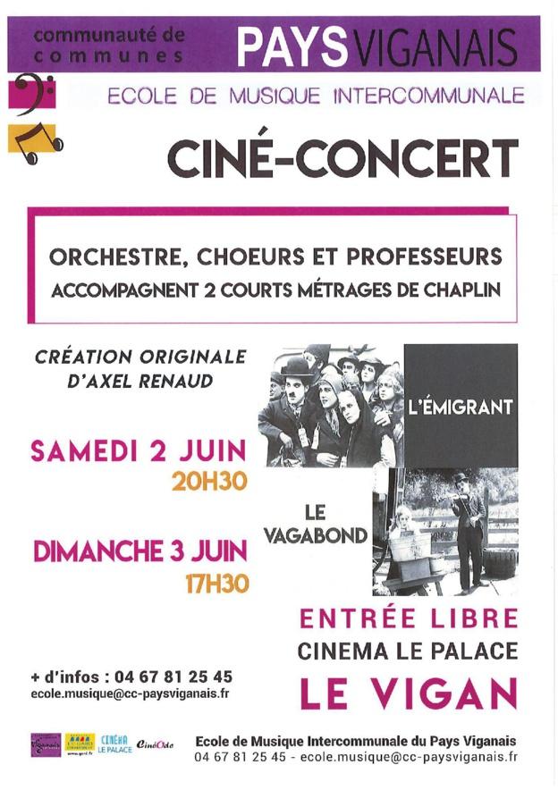 Ciné-concert Charlie Chaplin