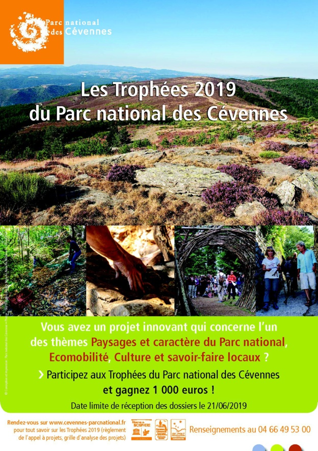 Trophées 2019 du Parc National des Cévennes