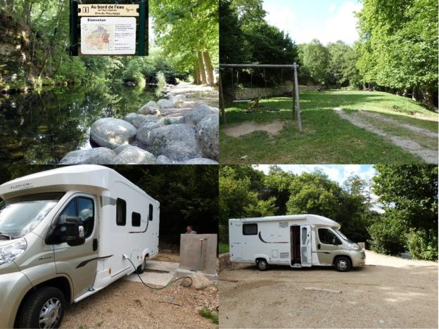 Aire pour Camping-cars du Rieumage