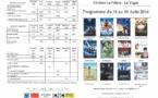 Programme du Cinéma du 10 au 30 août 2016
