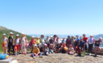 Journée Land Art à l'Aigoual pour les GS-CP-CE1