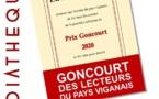 Médiathèque : Prix Goncourt viganais 2020