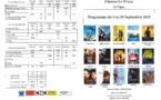 Programme du cinéma le Palace du 9 au 29 Septembre 2015