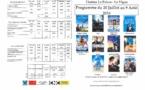 Programme du Cinéma le Palace du 20 Juillet au 9 août 2016